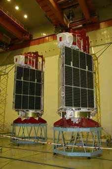 Glonass-Satellit; Credit: 3-Roskosmos