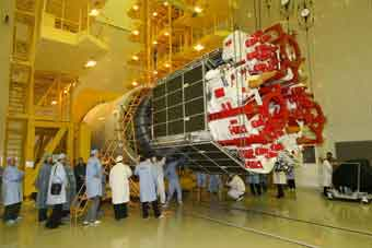 Glonass-Satellit; Credit: Roskosmos