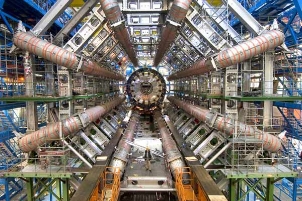 ATLAS-Detektor im CERN; Credit: CERN