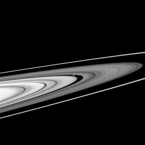 Die Ringe des Saturn; Credit: NASA / Cassini