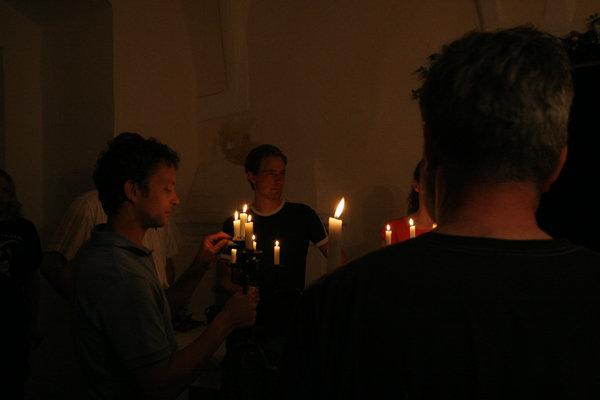 Schlossführung bei Kerzenschein; Erik Willersdorfer