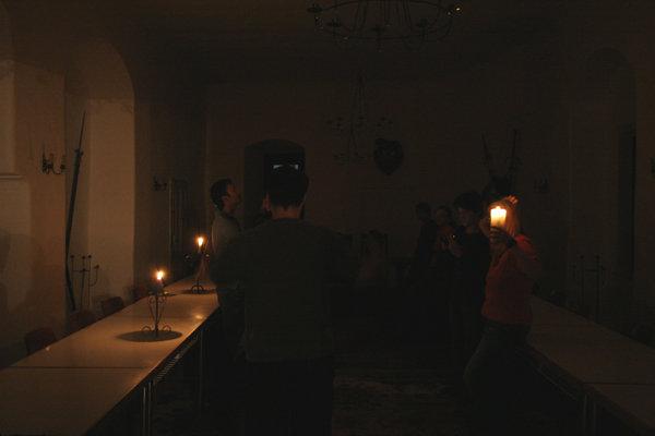 Rittersaal bei Kerzenschein; Erik Willersdorfer