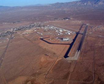 Mojave-Airport von oben, Credit: Scaled Composites