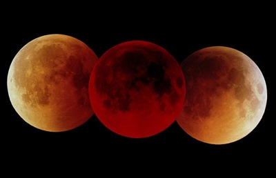 Total Lunar Eclipse, 16. Juli 2000. Credit: Fed Espenak, NASA Goddard Space Flight Center