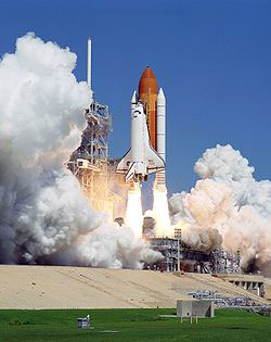 Spaceshuttle Atlantis; Credit: NASA