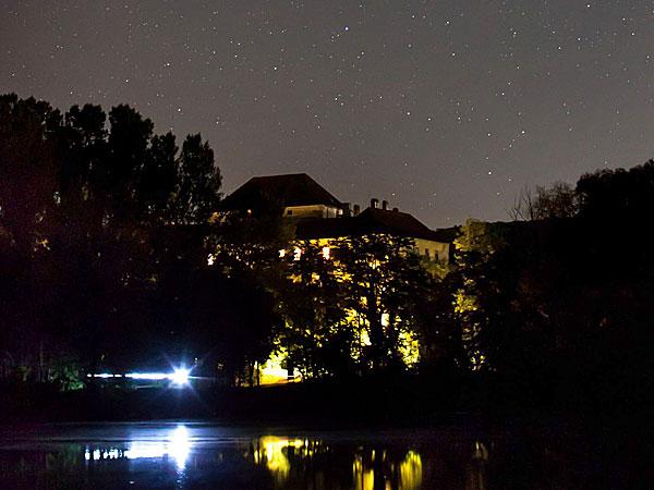 Das nächtliche Schloss; Credit: Gerwin Sturm