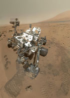 Marsrover Curiosity; Credit: NASA