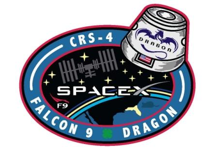 CRS-4 Mission Patch
